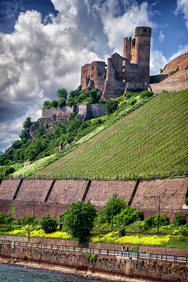 Ehrenfels Castle on the Rhine River in Germany_IMG_8246-2009 by Greg Kluempers