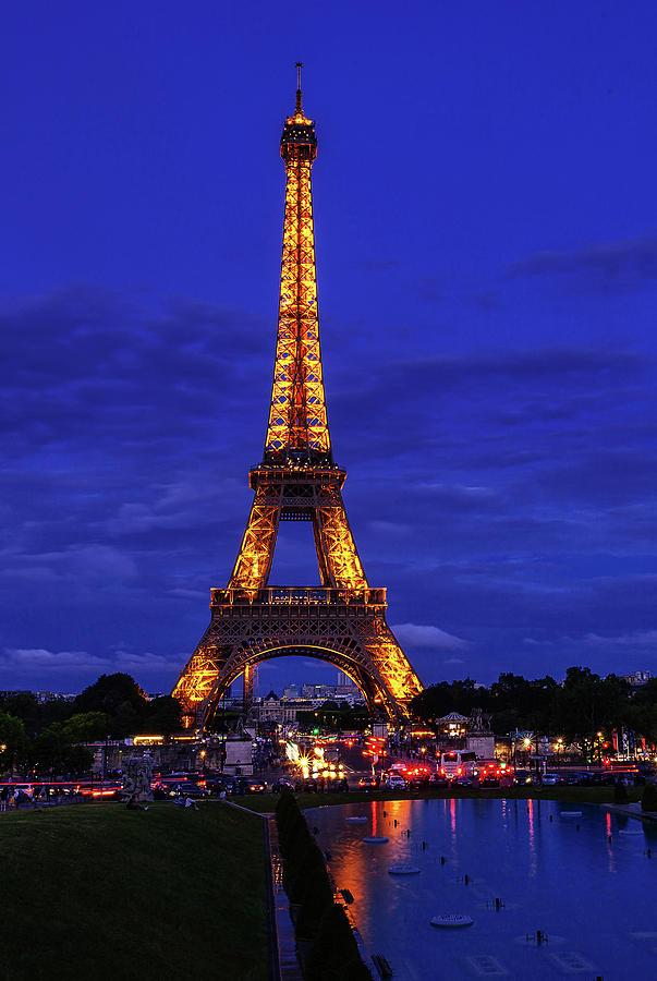 Eiffel At Twilight Photograph
