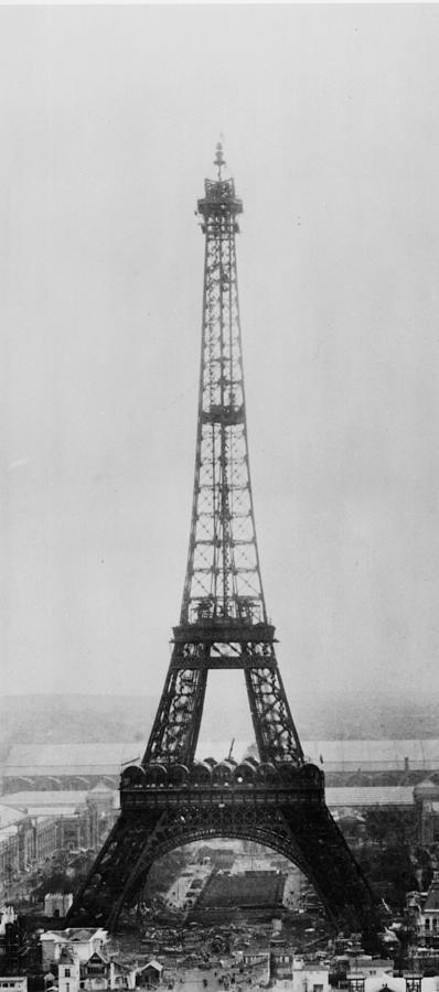 Eiffel Construction 11 Photograph by Henry Guttmann Collection