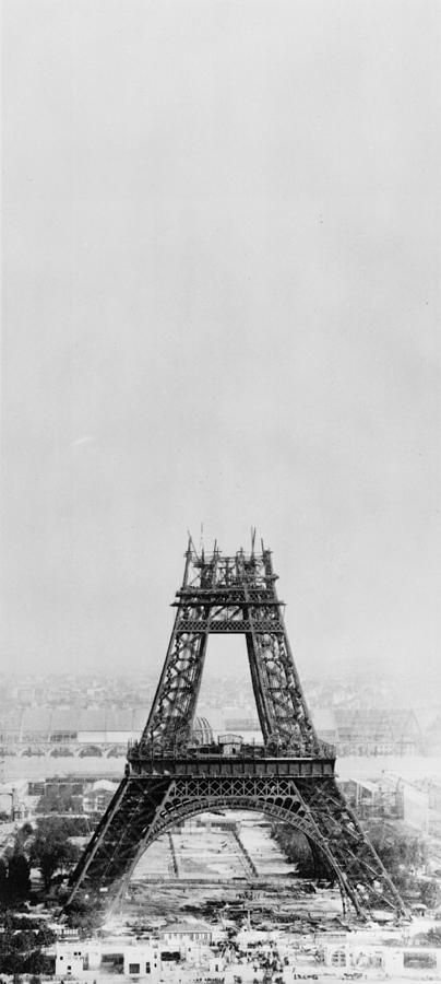 Eiffel Construction 7 Photograph by Henry Guttmann Collection