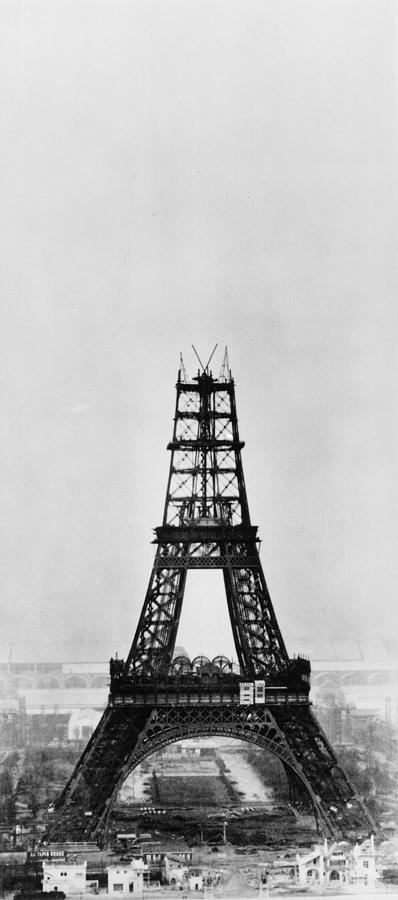 Eiffel Construction 8 Photograph by Henry Guttmann Collection
