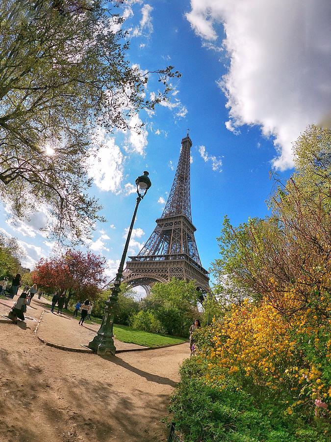 Europe Digital Art - Eiffel by Scott Waters