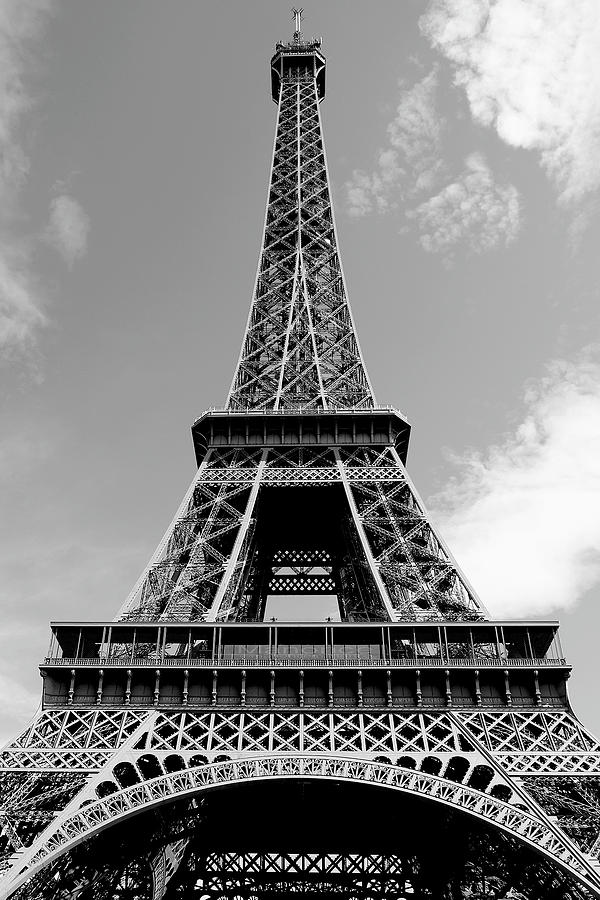 Eiffel Tower 2 Pyrography by Manonce Artist