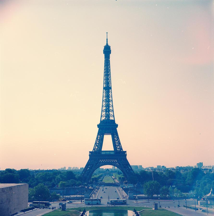 Eiffel Tower Photograph by Antimoloko