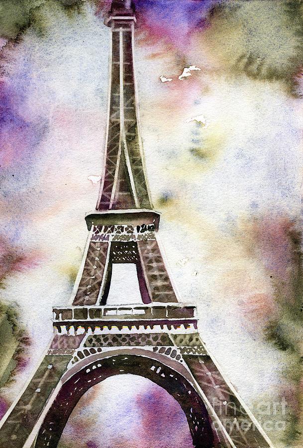 Eiffel Tower at sunset by Ryan Fox