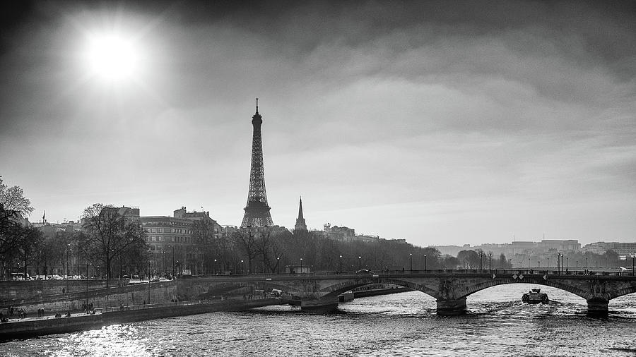 Eiffel Tower from Pont Alexandre 2 by Nigel R Bell