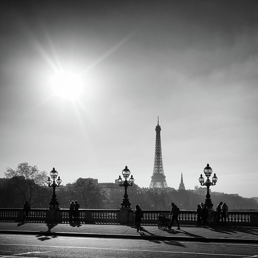 Eiffel Tower from Pont Alexandre 1 by Nigel R Bell