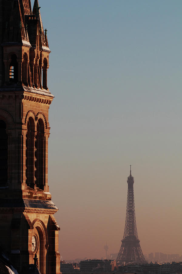 Eiffel Tower Photograph by Martial Colomb