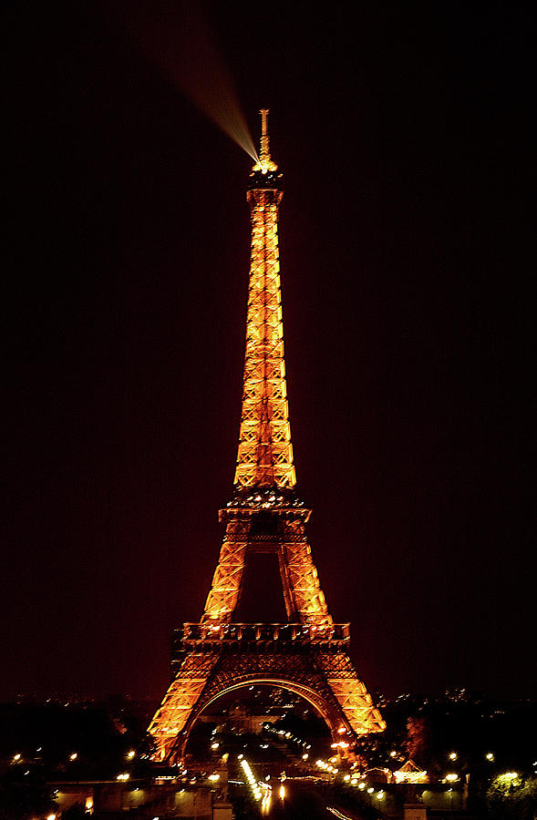 Eiffel Tower, Night by Mick Burkey