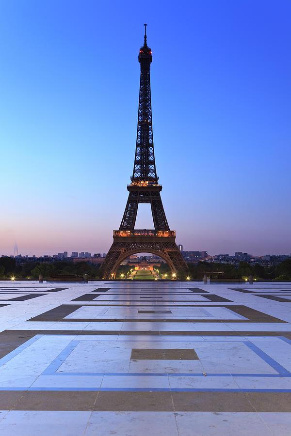 Eiffel Tower Sunrise Photograph by Btrenkel