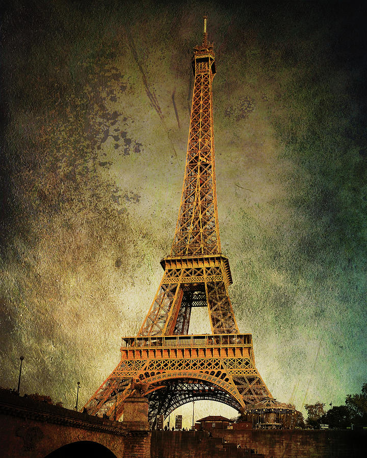 Eiffel Tower Vintage by Jemmy Archer