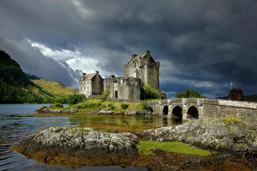 Eilean Donan Castle, Scotland Photograph by Daryl Benson