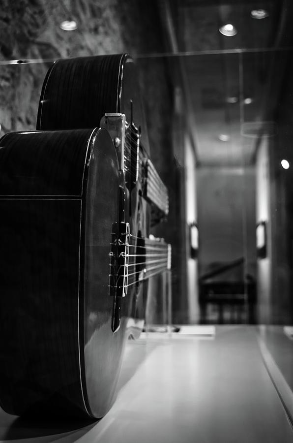 Guitar Photograph - El Fusilamiento De Un Piano by Borja Robles
