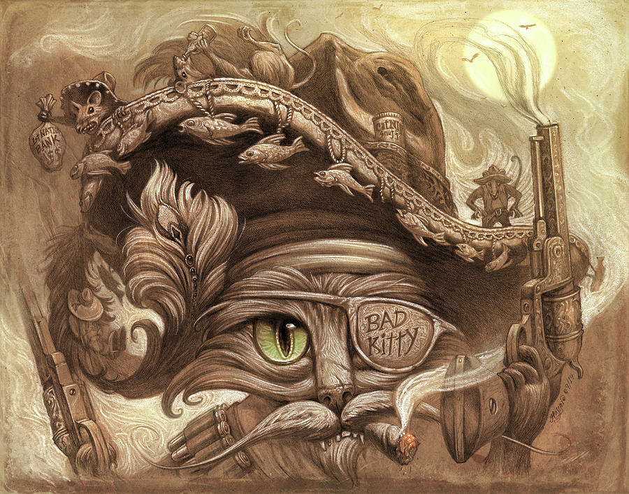 El Gato Loco by Jeff Haynie