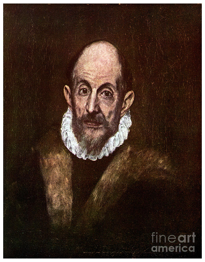 El Greco, Greek Painter Active Drawing by Print Collector