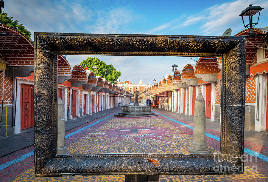 America Photograph - El Parian Frame by Inge Johnsson