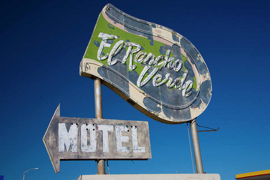 El Rancho Verde Motel by Matthew Bamberg