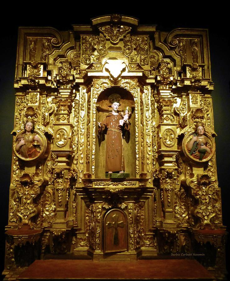 El Retablo de San Antonio de Padua by Barbie Corbett-Newmin
