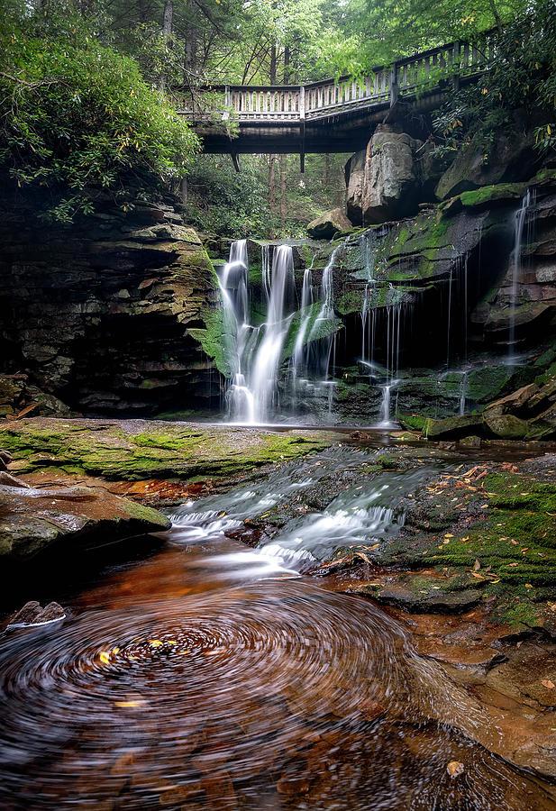 Elakala Falls by Ryan Wyckoff