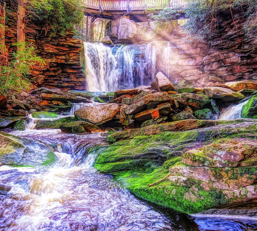 Elakala Falls West Virginia by Dan Sproul