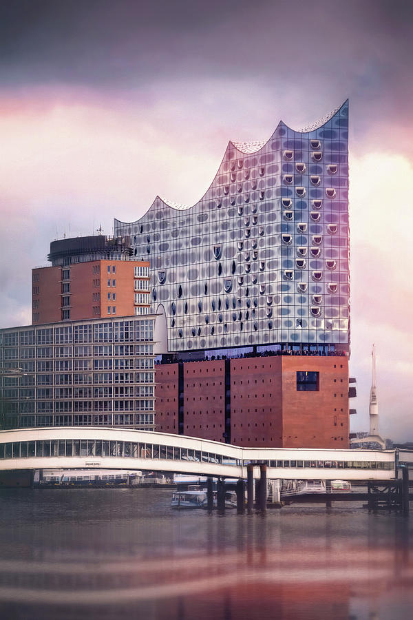 Hamburg Photograph - Elbphilharmonie Hamburg Germany  by Carol Japp