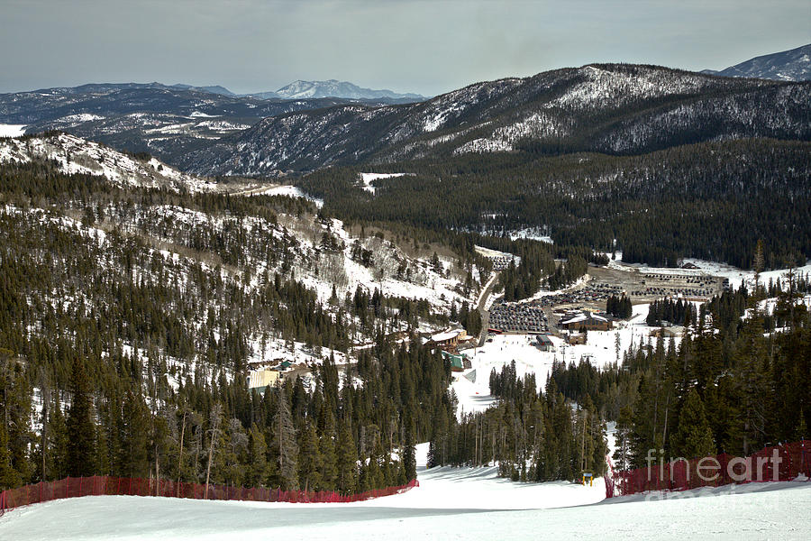 Eldora Mountain Base Lodge And Beyond by Adam Jewell