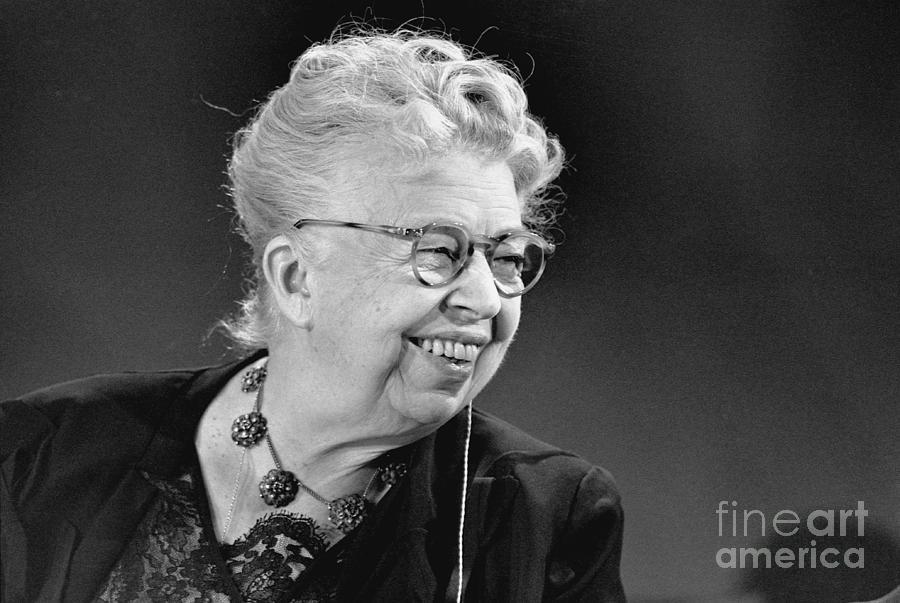 Eleanor Roosevelt Photograph by Bettmann