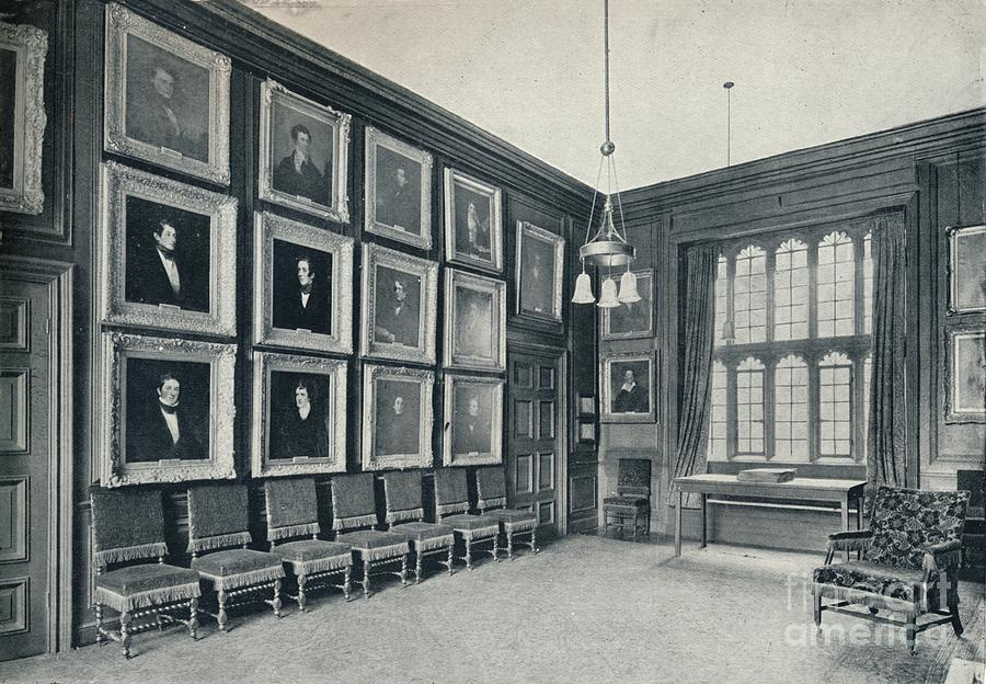 Election Chamber, 1926 Drawing by Print Collector