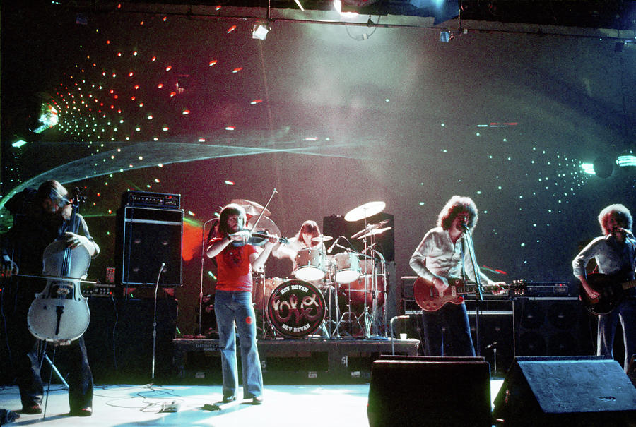 Electric Light Orchestra Performing Photograph by Michael Ochs Archives