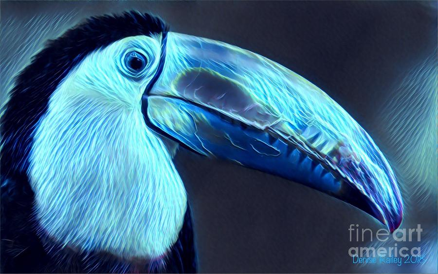 Electric Toucan by Denise Railey