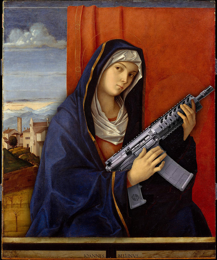 Image result for artist woman paintings with guns