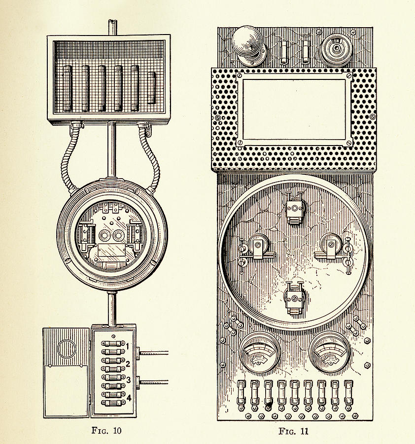 Electrical Circuit Panel by Paul W Faust - Impressions of Light