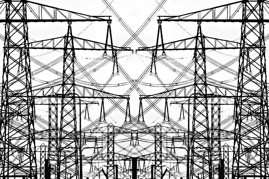 Electrical Symmetry Photograph by Ellen Van Bodegom