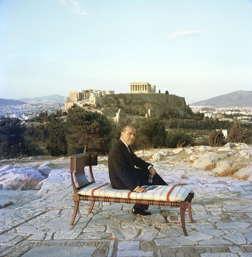 Eleftherios Saridis Photograph by Slim Aarons