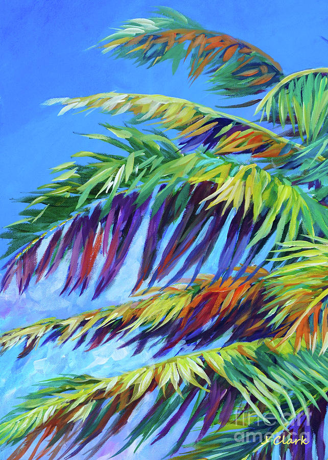 Palm Painting - Elegant And Bold by John Clark