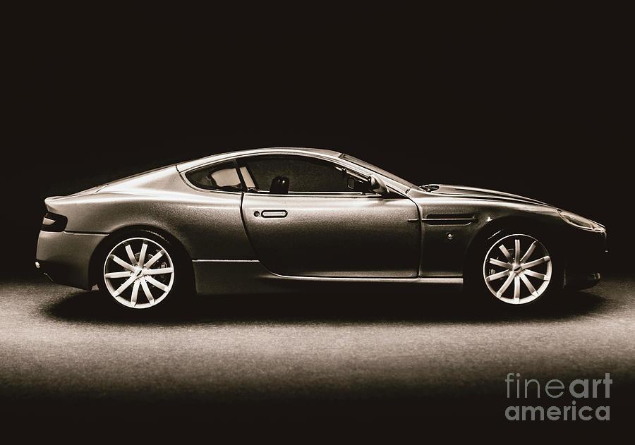 Sports Car Photograph - Elegant Darkness by Jorgo Photography - Wall Art Gallery