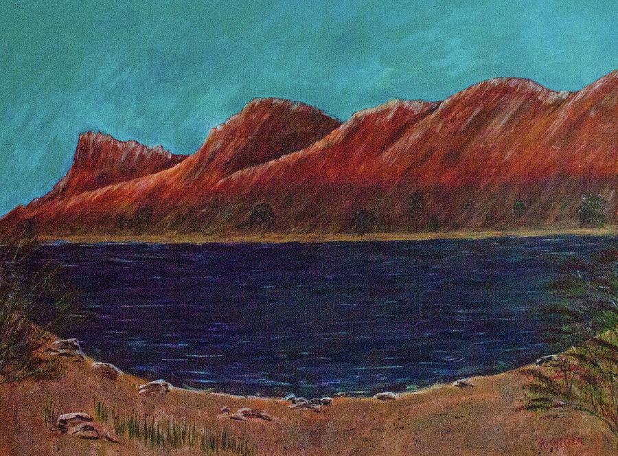 Elephant Butte Lake by Randy Sylvia