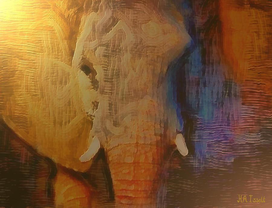 Elephant Gold by Humphrey Isselt