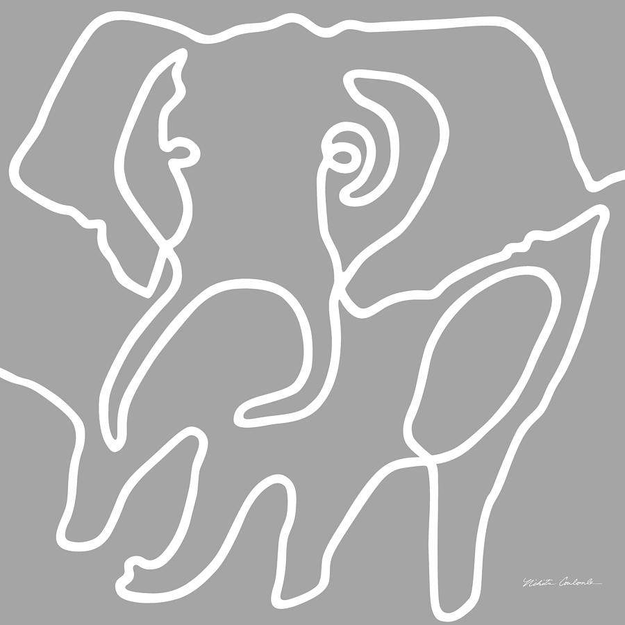 Elephant I by Nikita Coulombe