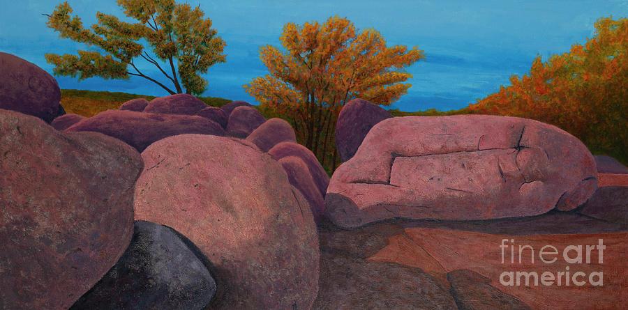 Elephant Rocks Autumns Peak by Garry McMichael