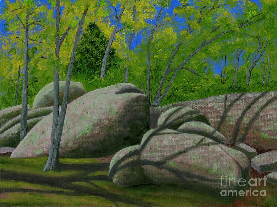 Elephant Rocks Easter Light by Garry McMichael