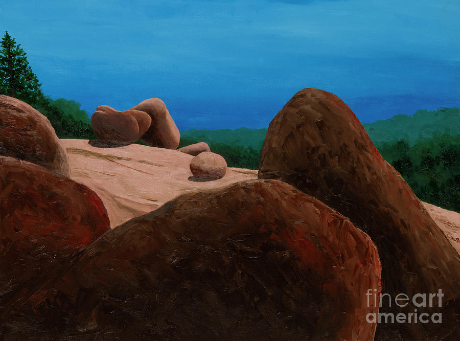 Elephant Rocks Summer 3 by Garry McMichael