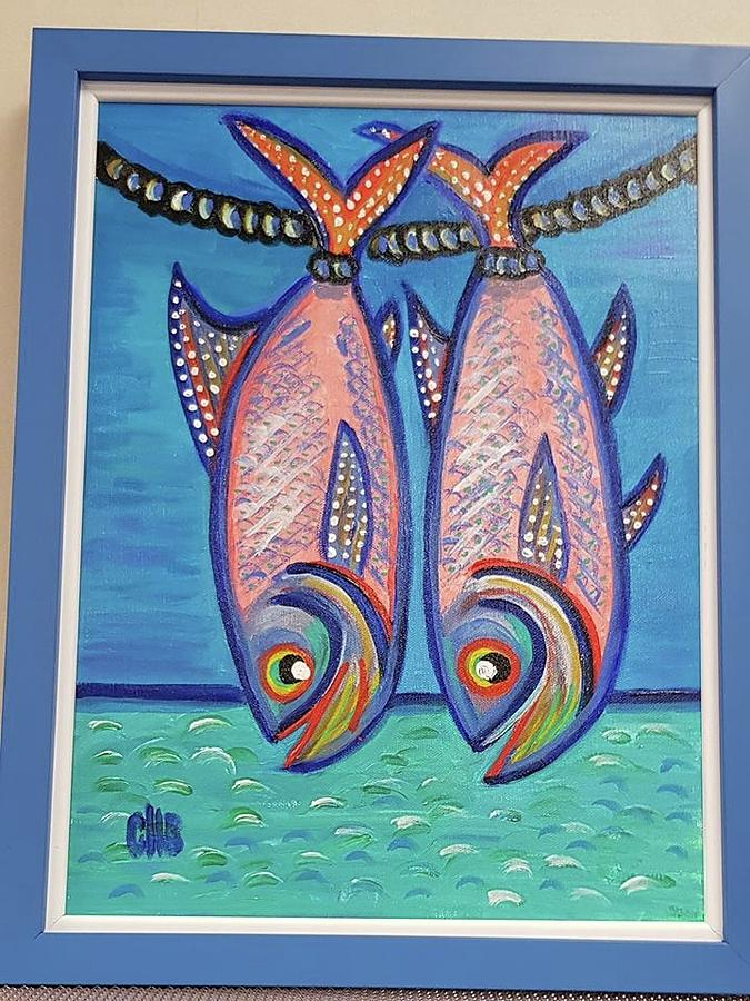 Eleuthera Island - Catch Of The Day Painting