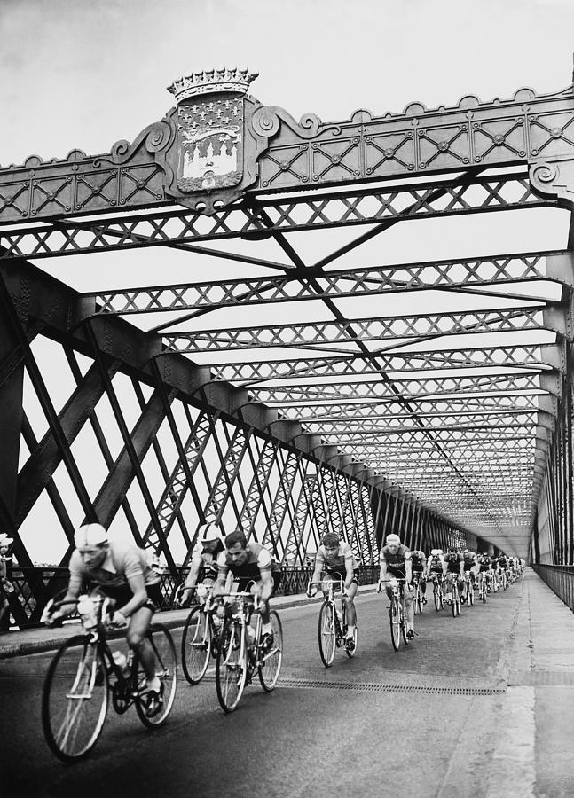 Eleventh Leg Of Tour De France In Photograph by Keystone-france