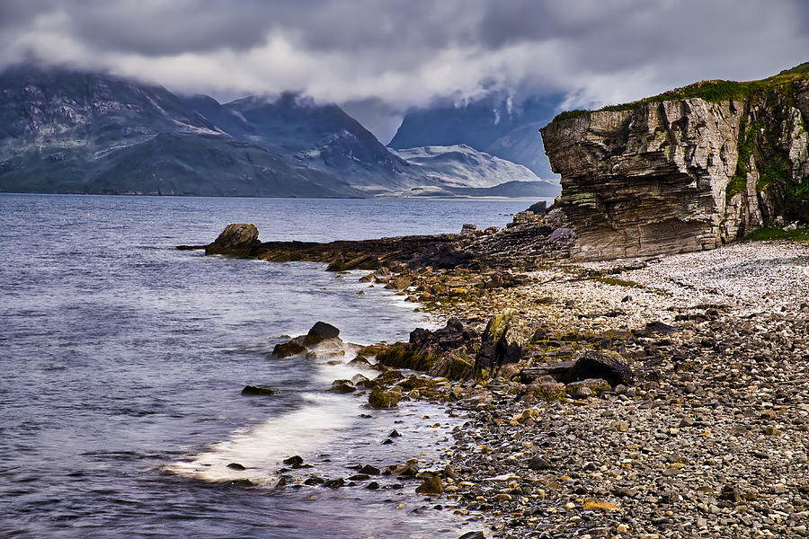 Elgol Beach - Scotland by Stuart Litoff