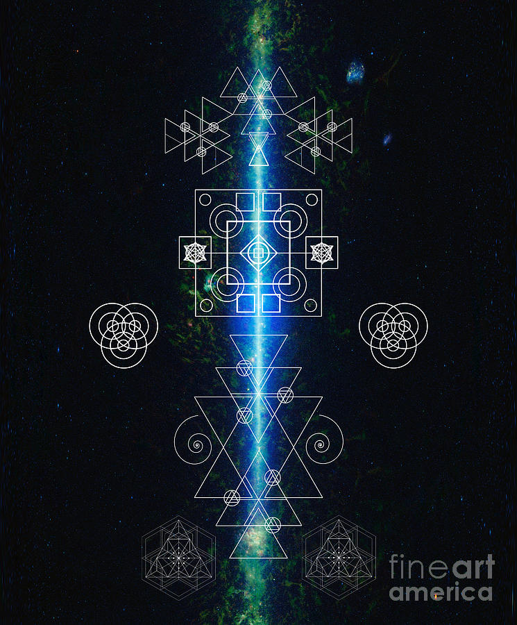 Elheria Galactic Awareness Sacred Geometry by Nathalie DAOUT