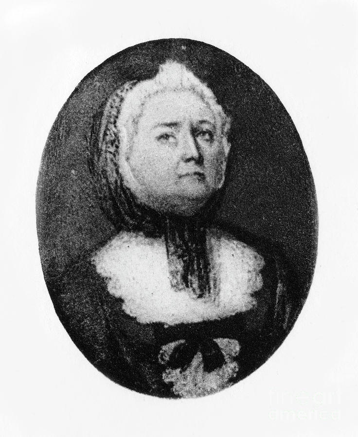 Elizabeth Cromwell, Mother Of Oliver Drawing by Print Collector
