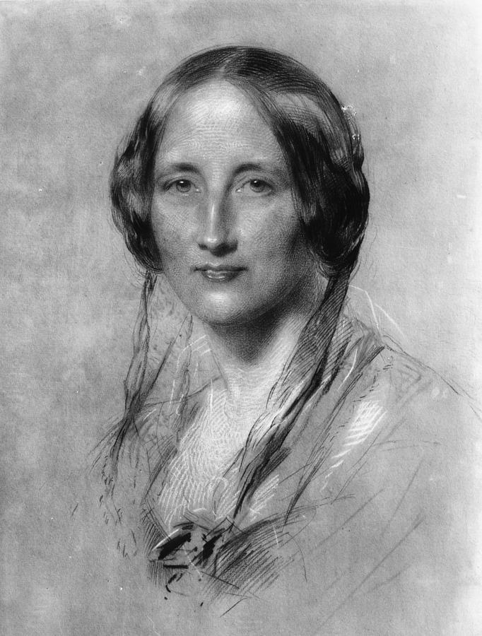 Elizabeth Gaskell Digital Art by Hulton Archive