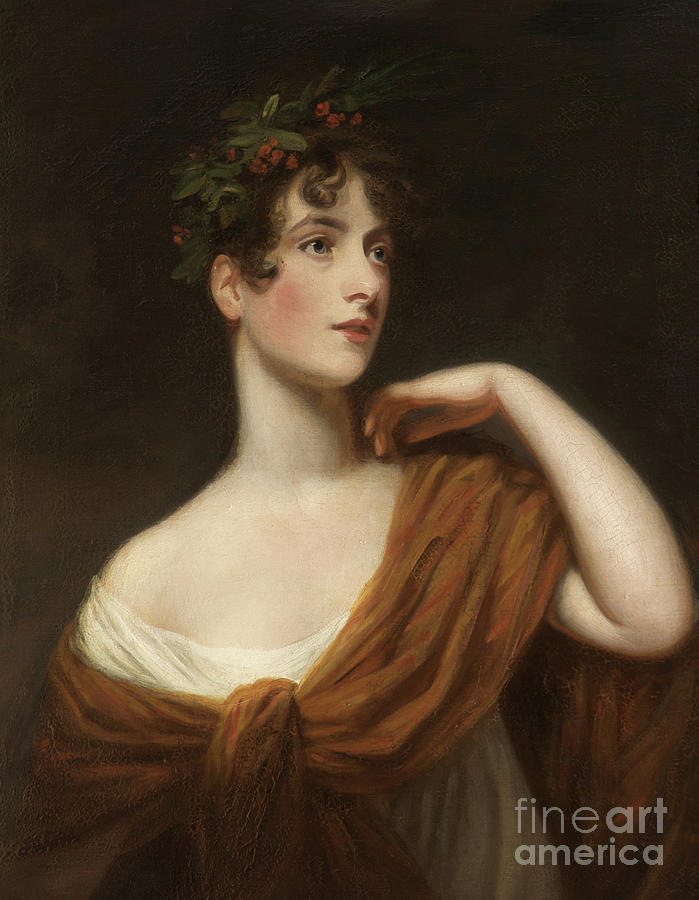 Female Painting - Elizabeth Searle As Miranda by John Opie