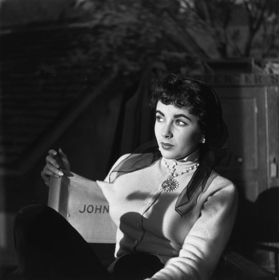 Elizabeth Taylor Photograph by Daniel Farson